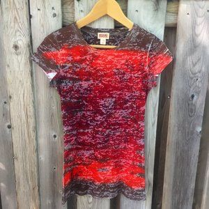 4/$25 Mossimo tie dye graphic tee - size S